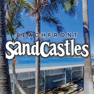 Beach Front Sand Castles