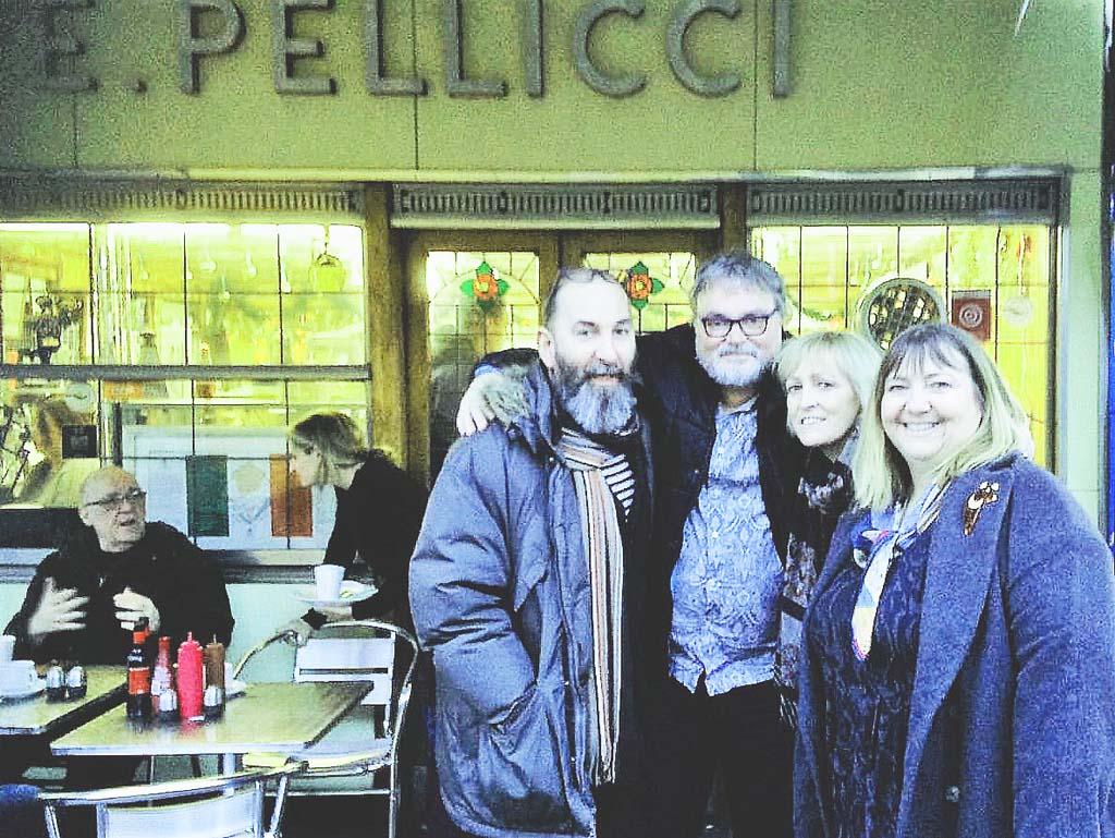 Pellicci cafe on art deco tour