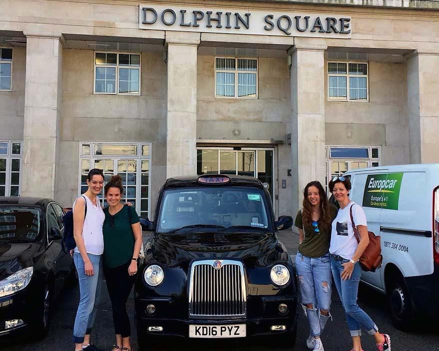 Art Deco  Taxi Tour Dolphin Square