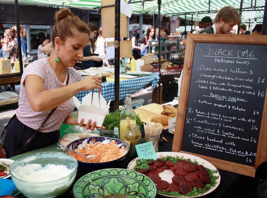 Broadway market London Food tour