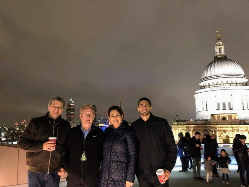 London by Night  Taxi Tours Stop at St Pauls