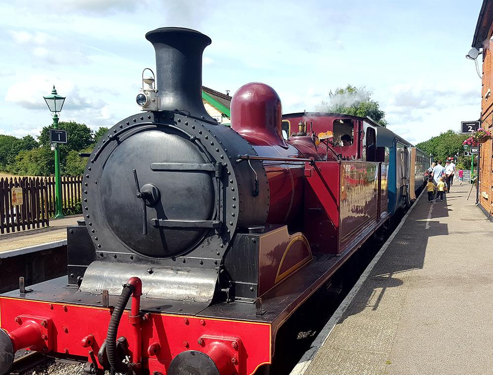 Steam Train Ongar railway station