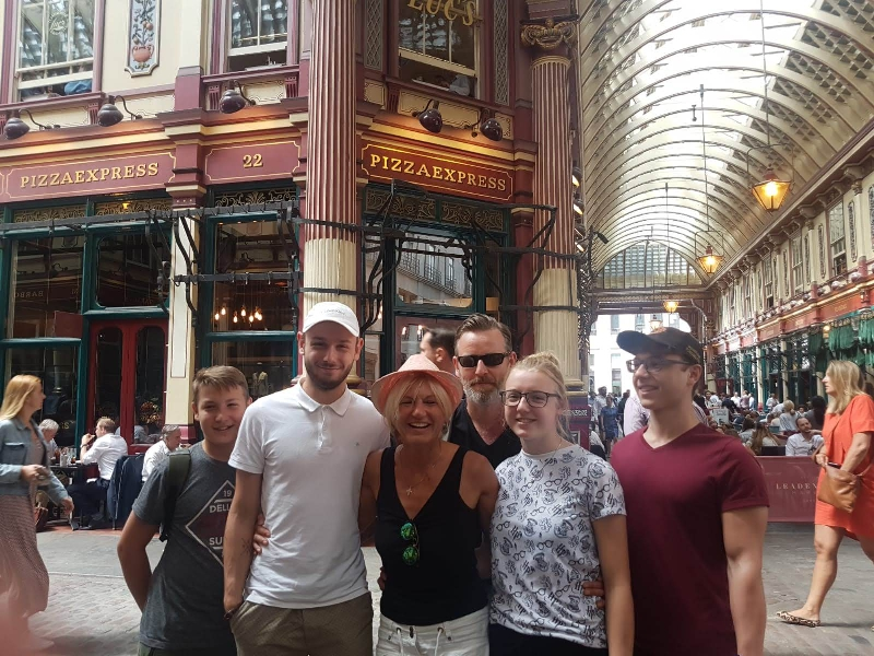 Harry Potter Taxi Tour Movie Location Leadenhall Market