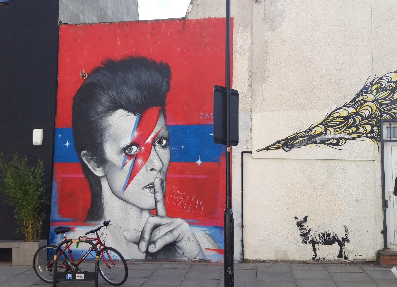 Street Art of David Bowie