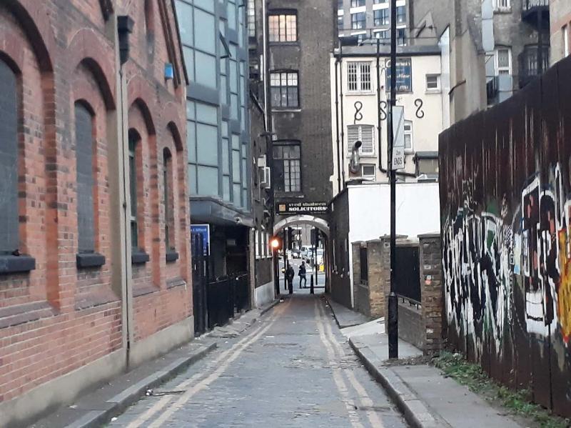 Jack the Ripper murder site.
