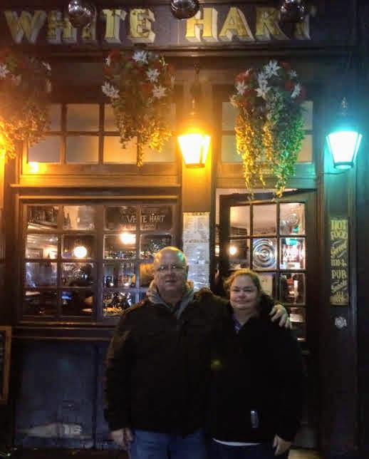 Guests at 10 bells pub Jack the Ripper