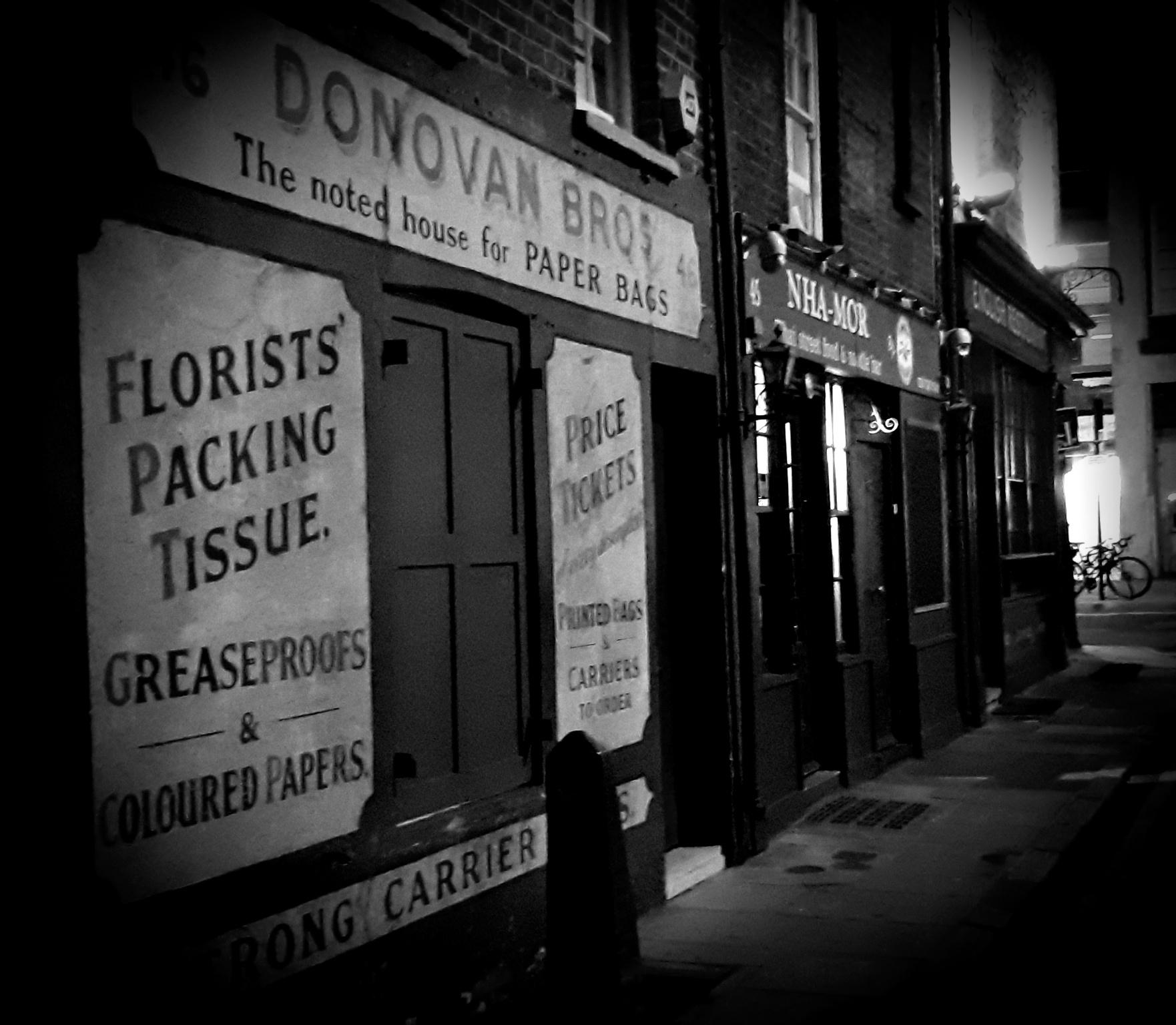 Spooky Street in Whitechapel