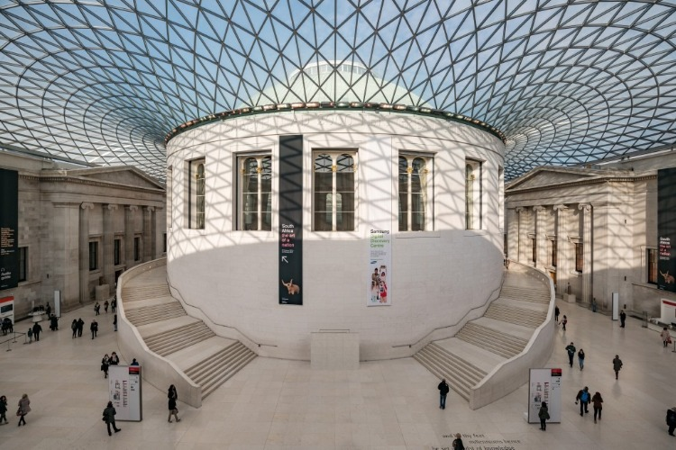 The British Museum Virtual Tour  on the Visit London Taxi Tours Virtual Tour List.  photo London partners