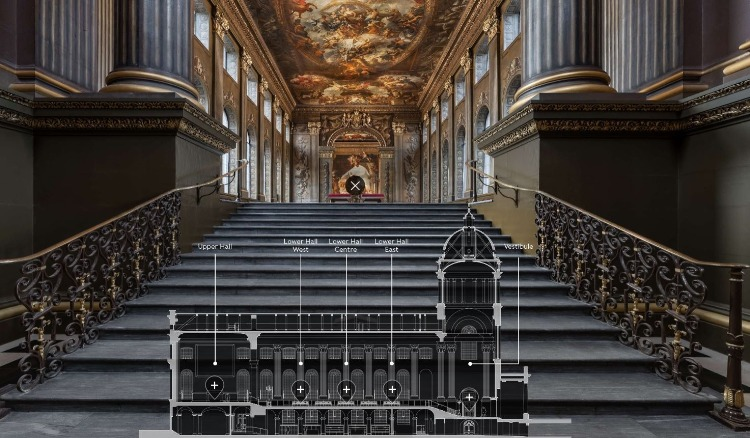 The Painted Hall at the Royal Naval College Virtual Tour image
