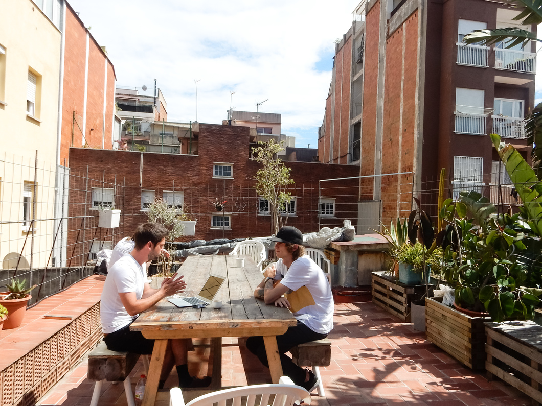 betahaus Barcelona Coworking Area Space Office Terrace Open Summer