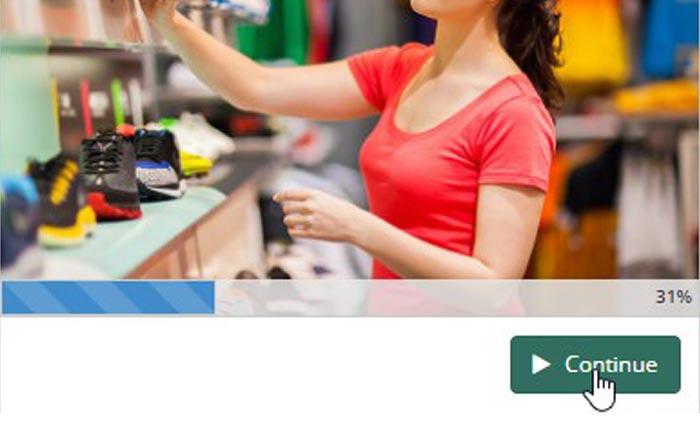 One Click Launch - SmarterU LMS - Online Training Software