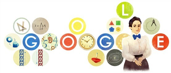Emmy Noether Google Doodle - SmarterU LMS - Learning Management System