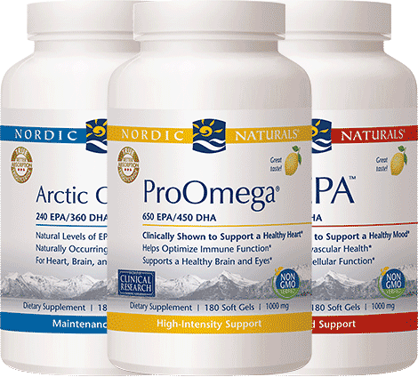 Nordic Naturals Supplements