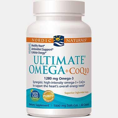 Nordic Naturals Ultimate Omega +CoQ10