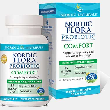 Nordic Naturals Nordic Flora Probiotic Comfort