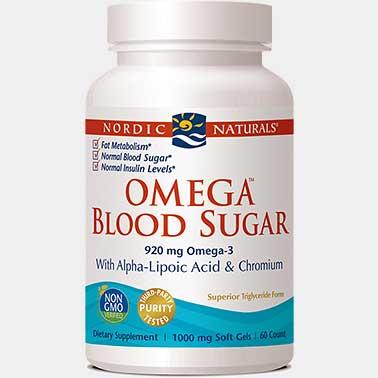 Nordic Naturals Omega Blood Sugar