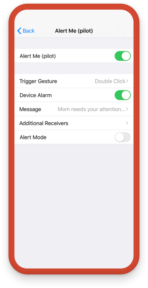 Customize your Alert Me options to give more control