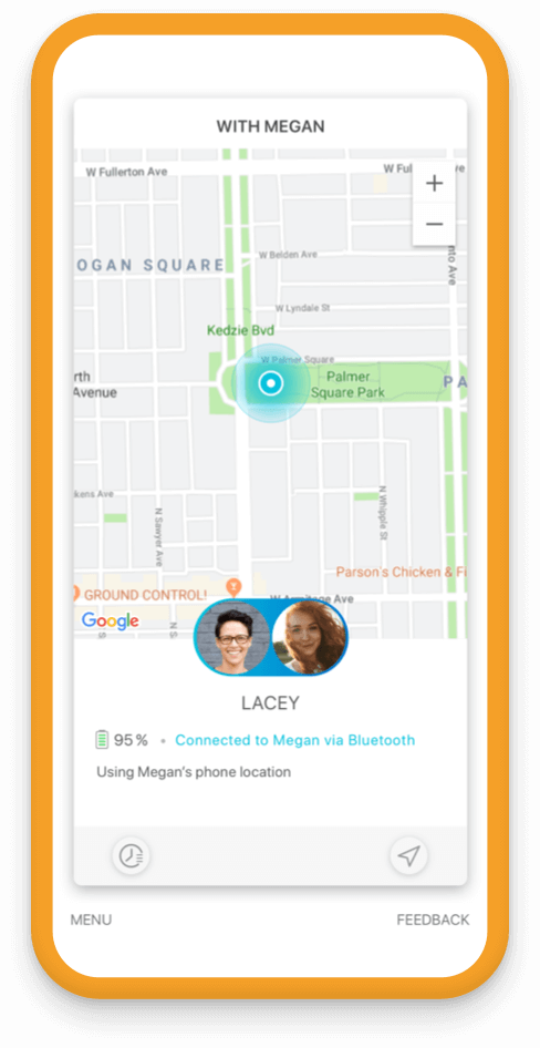 Jiobit Location Tracking for adult safety - know who they are with