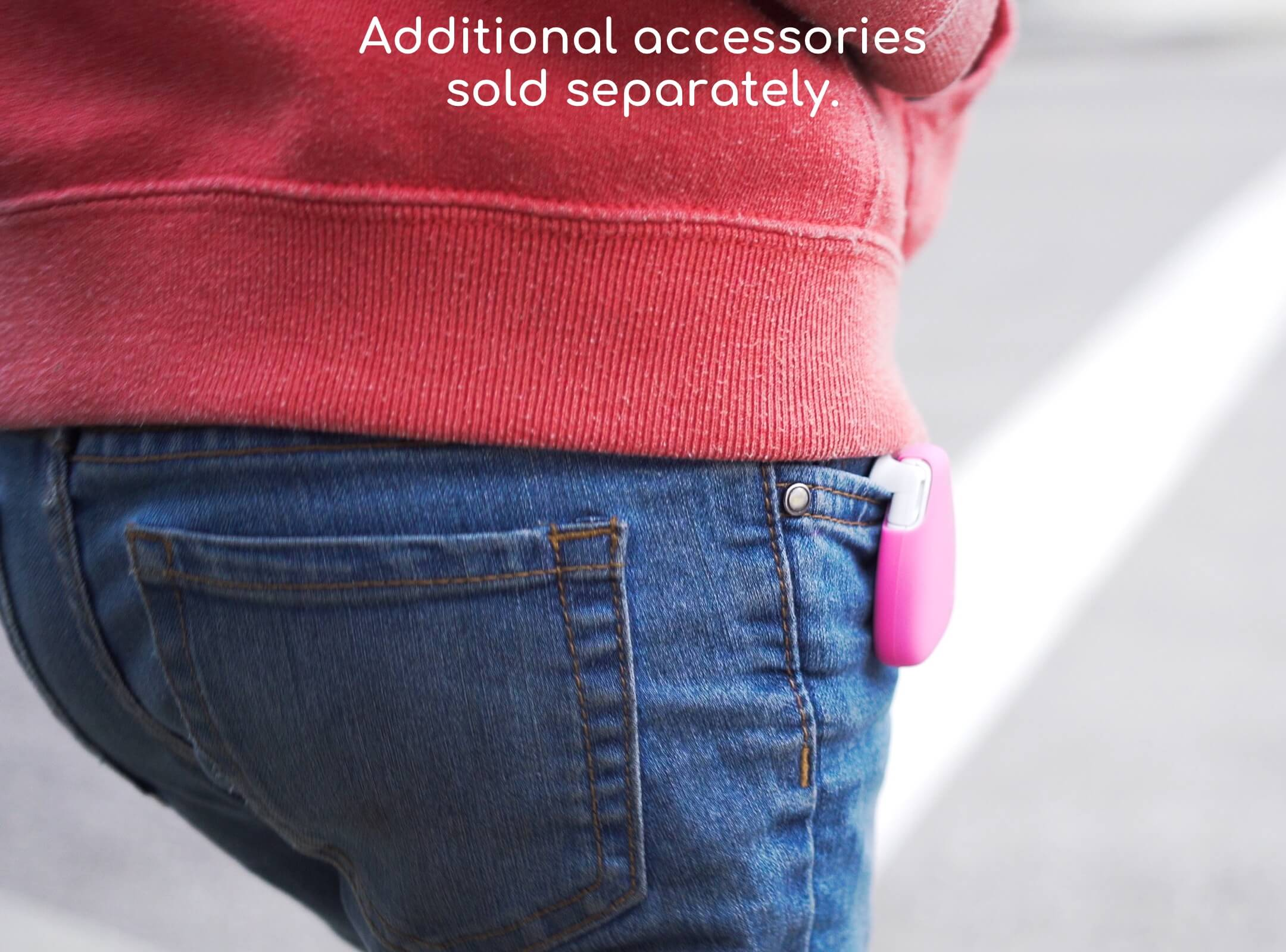 Additional accessories available