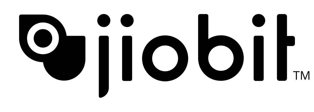 Jiobit Logo Black PNG