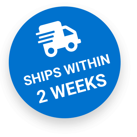 Ships within 2 weeks