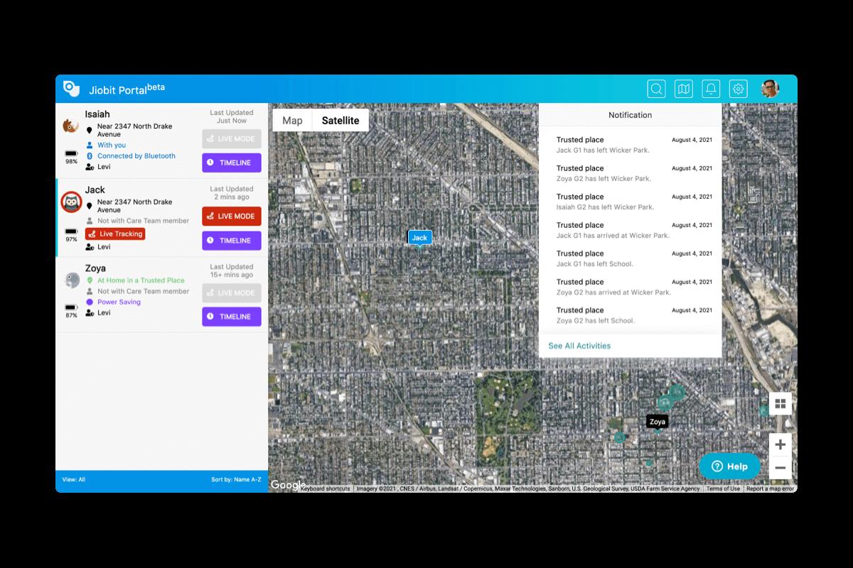 Jiobit Desktop Portal App