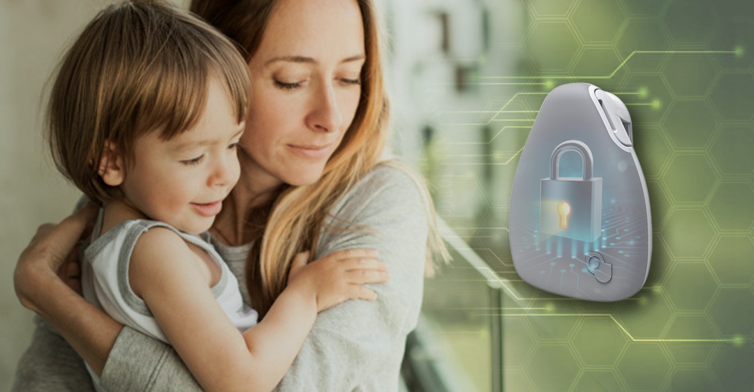 The first-of-its-kind Jiobit TrustChip delivers unmatched security and encryption, meeting or exceeding US-government standards. It's a parent's dream and hacker's worst nightmare.