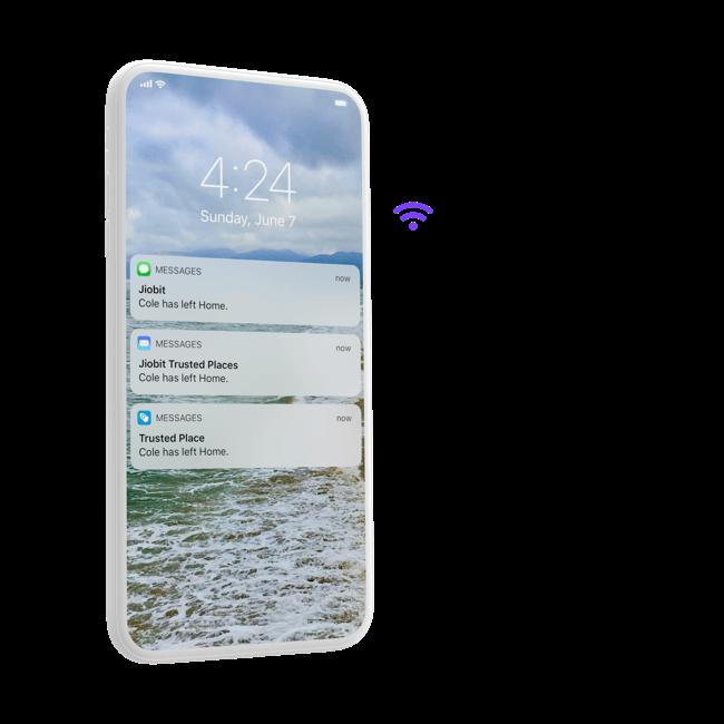 Wi-Fi alert feature