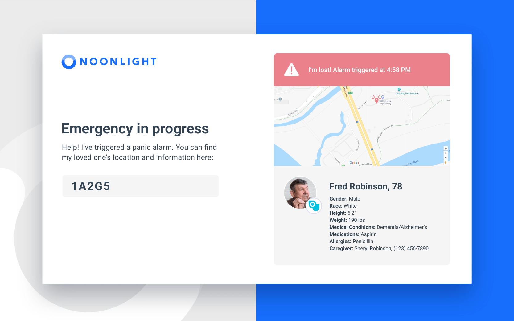 Noonlight Emergency Dashboard