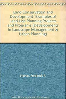 Land Use Planning and Management/Development