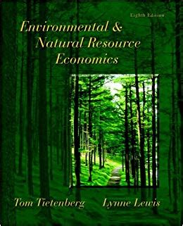 Environmental/Natural Resource Economics