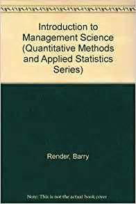 Management Sciences and Quantitative Methods, Other