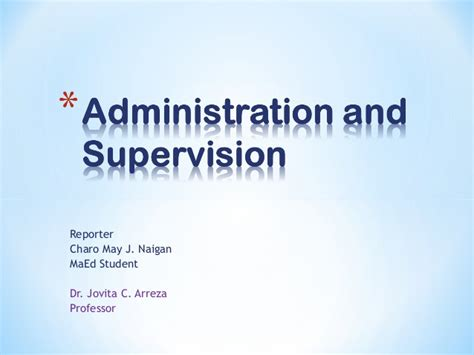 Educational Administration and Supervision, Other