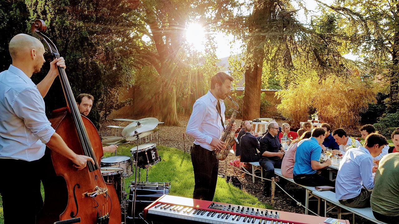 Jazzband bei Ihrer Hochzeit
