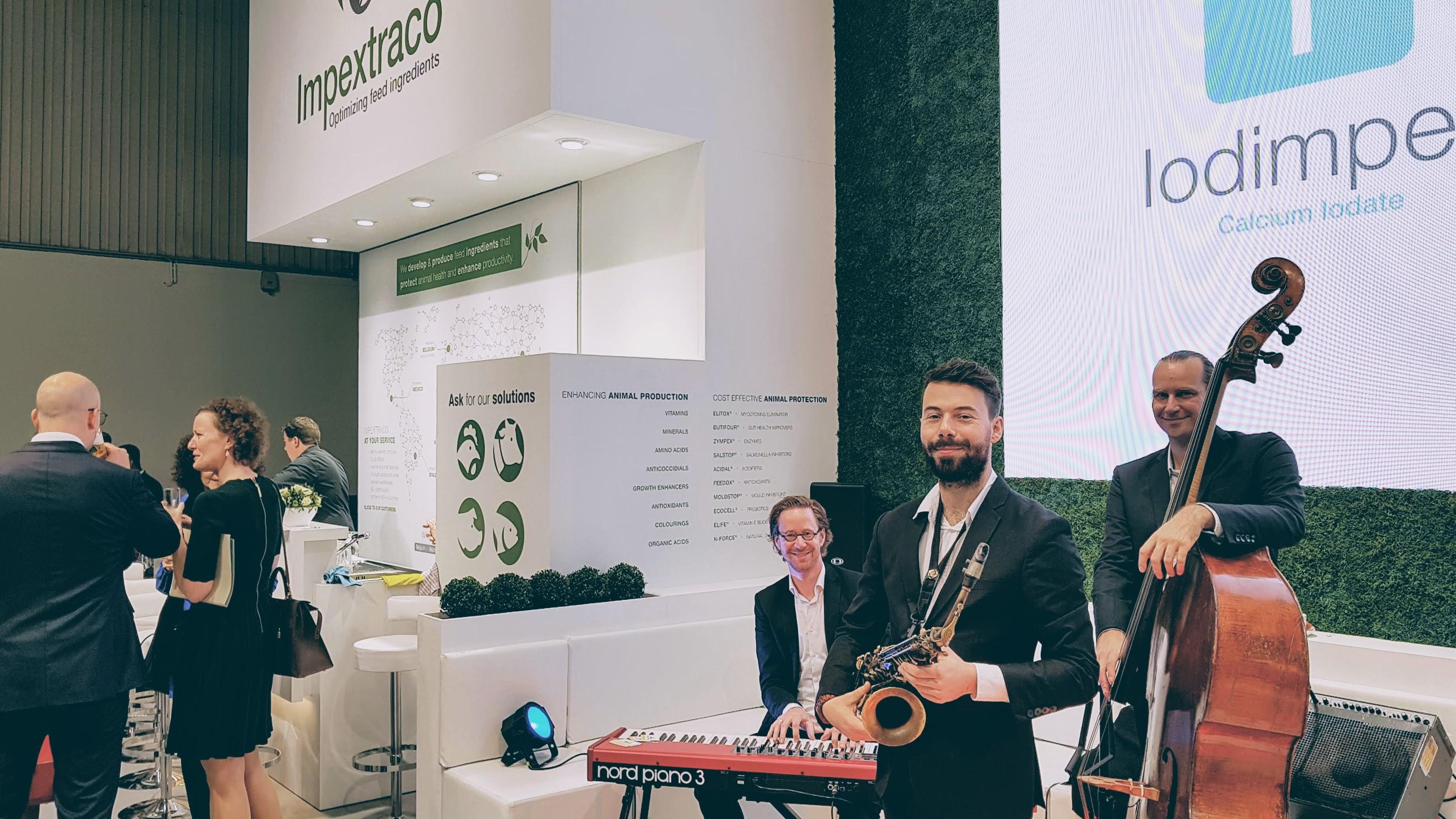 Jazzband op uw beurs of expo