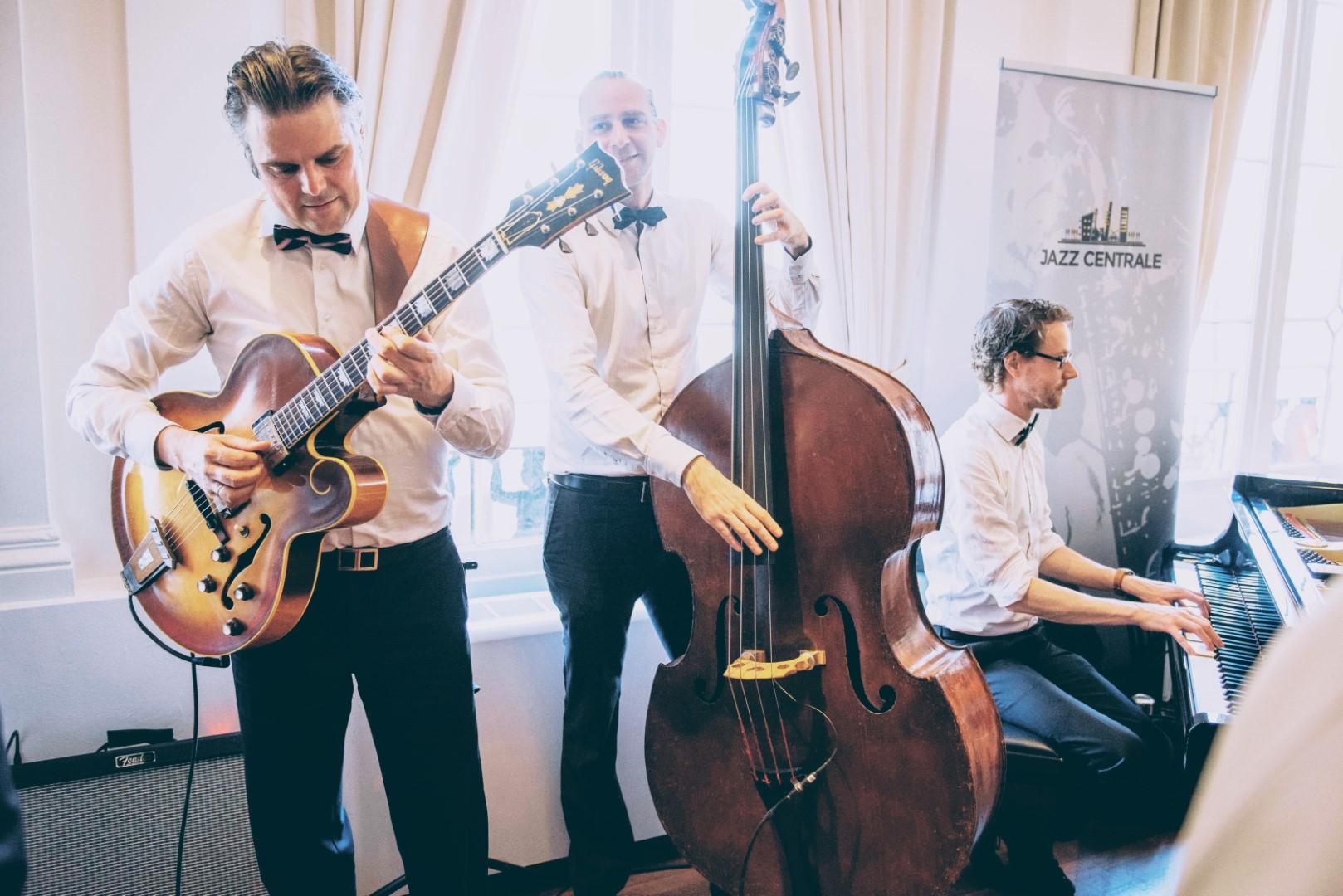 Jazzband op je bruiloft