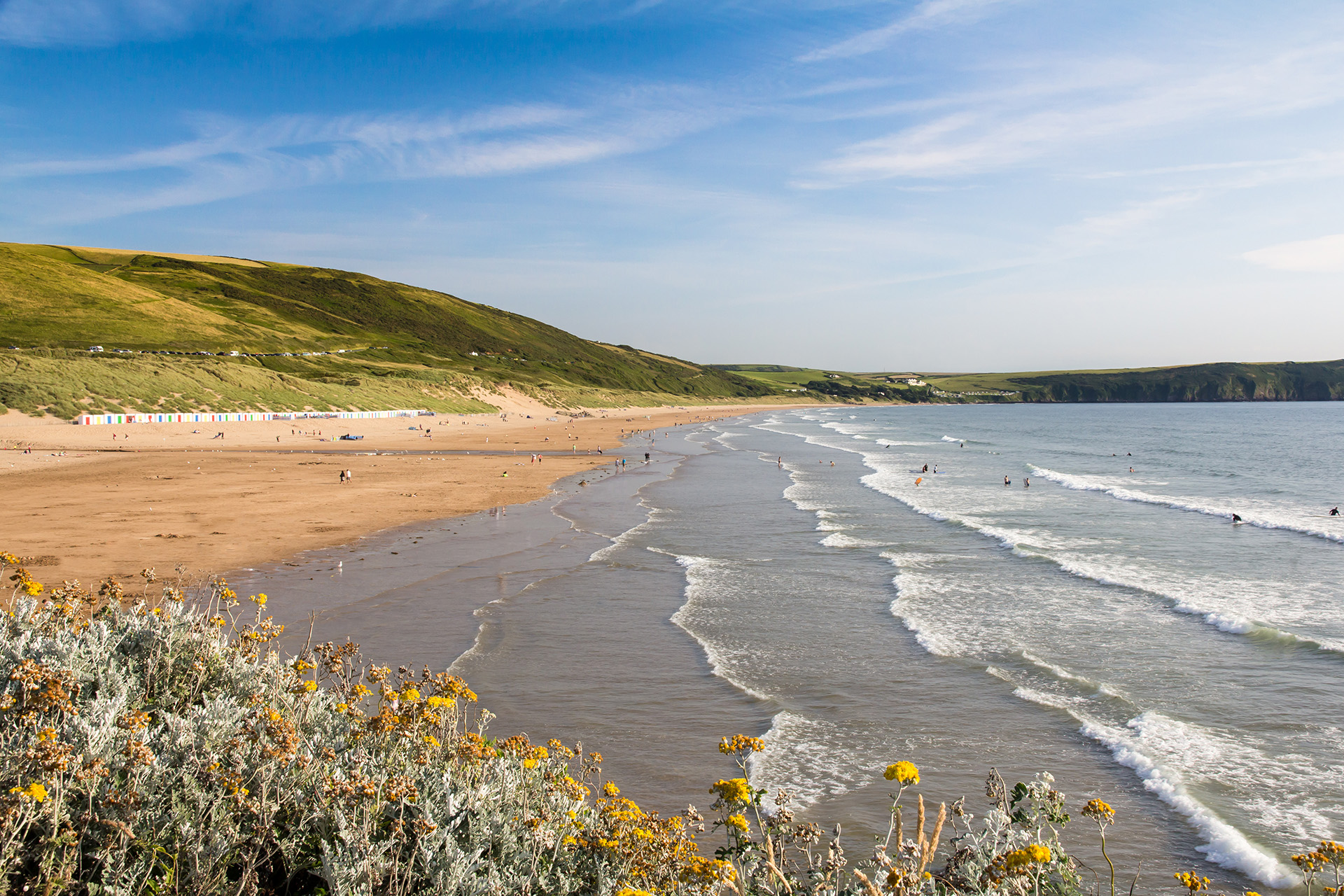 Woolacombe Beach holiday cottages in North Devon