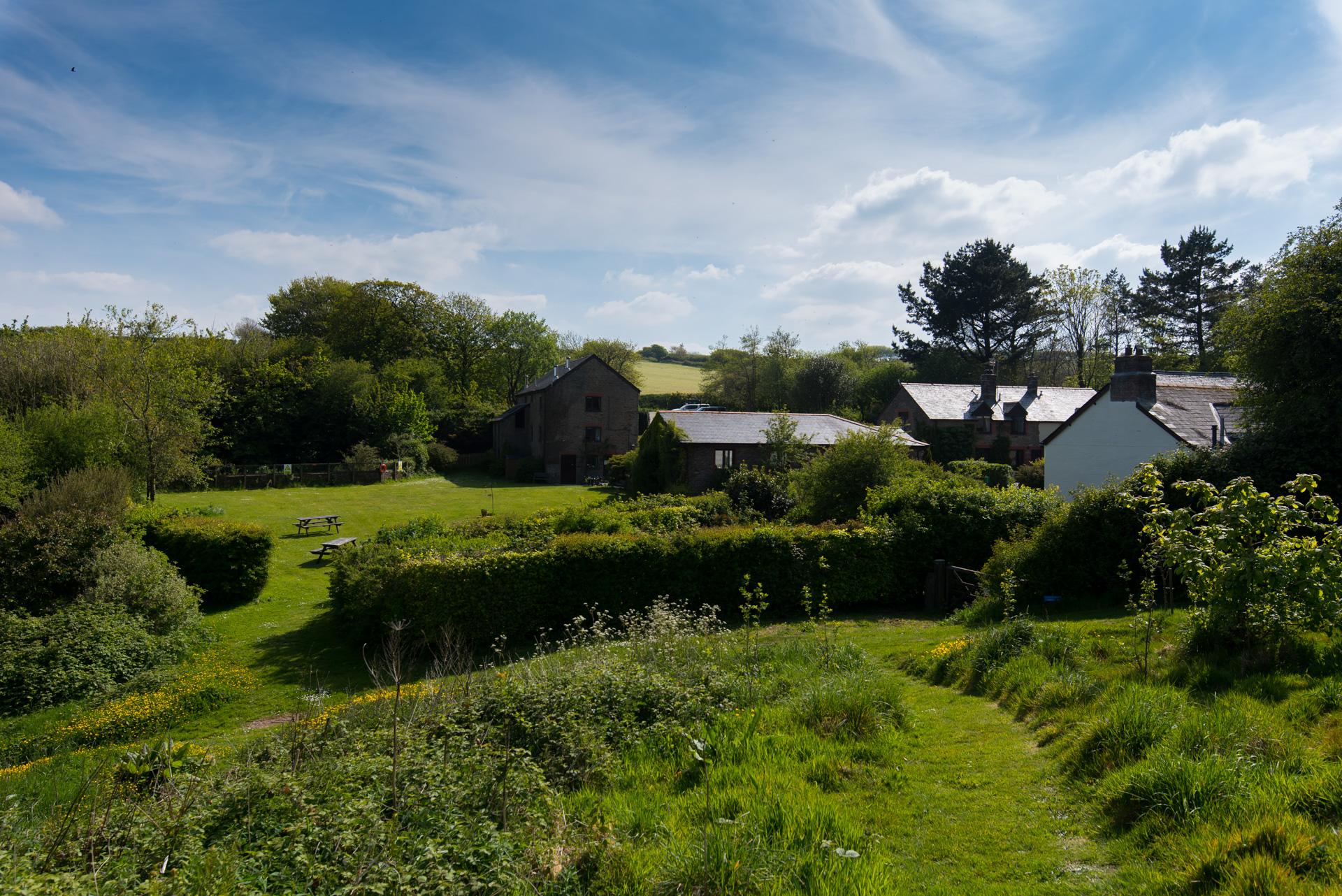 Wheel Farm Holiday Cottages, North Devon, Combe Martin