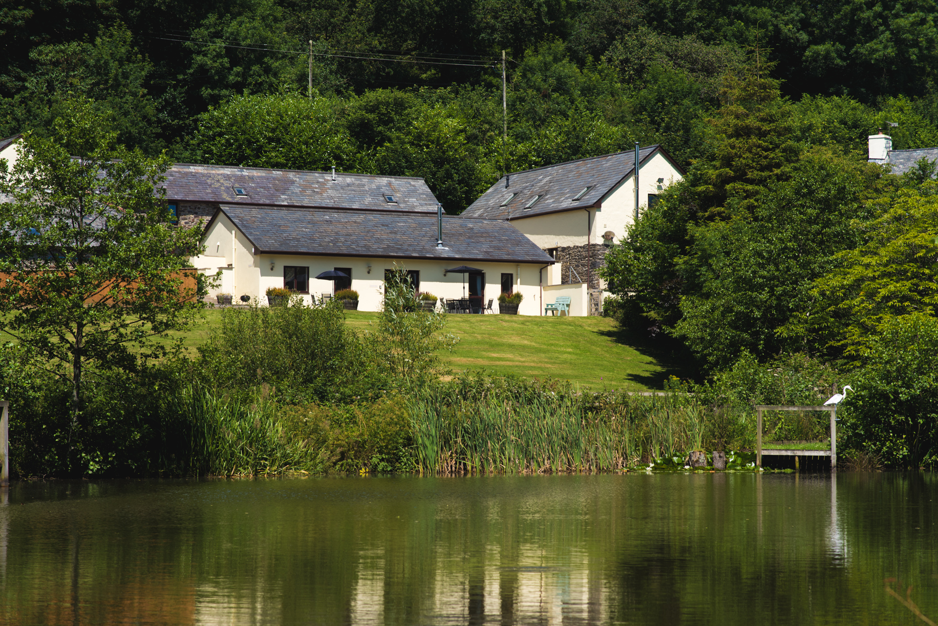 Group cottages in North Devon