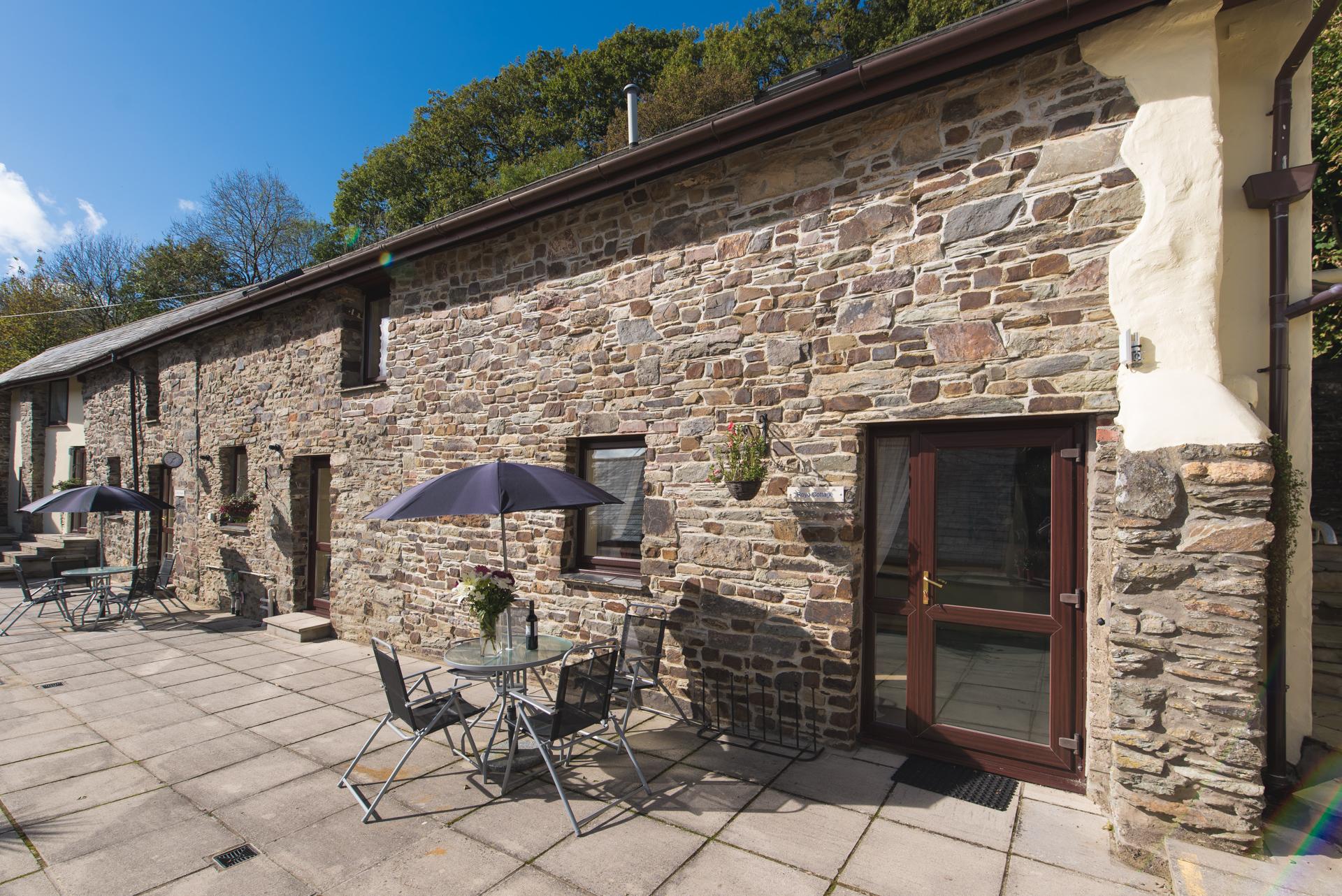Royd Cottage At Lower Aylescott Near West Down In North Devon