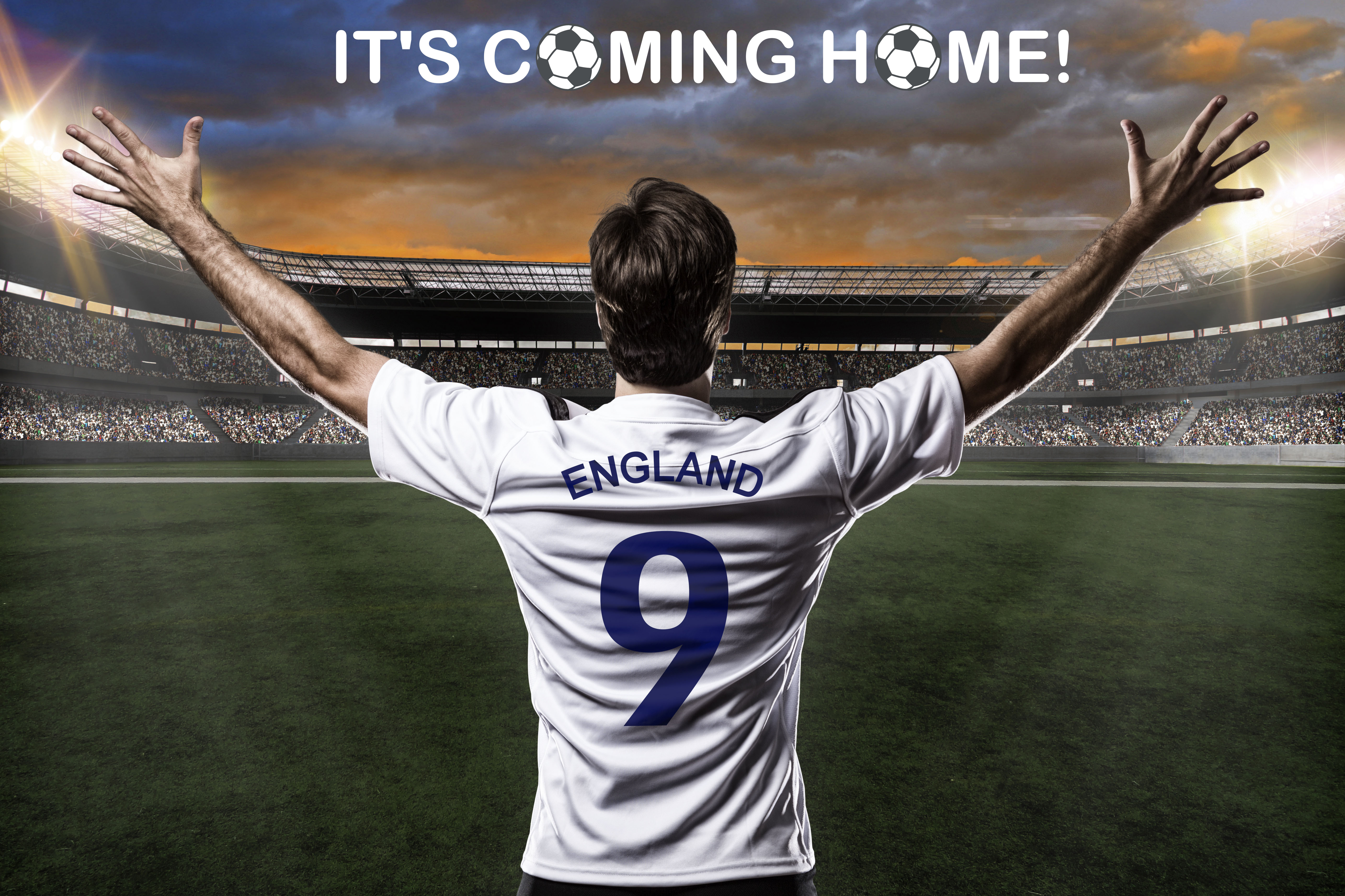 Is the footie coming home?