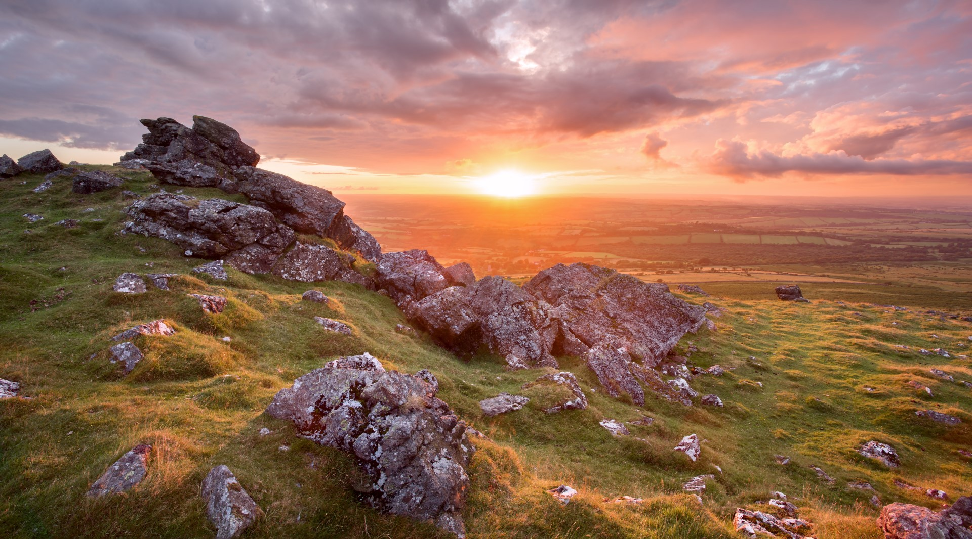 A holiday cottage with a view across Dartmoor