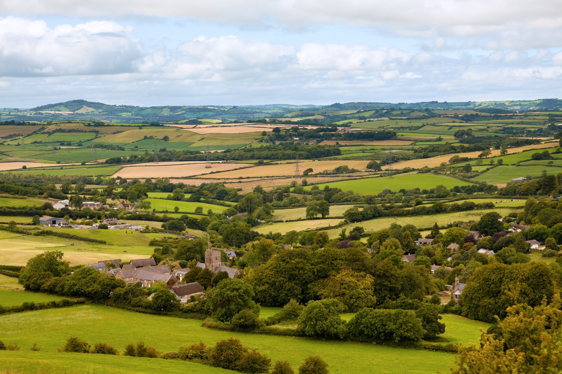Self catering holiday cottages in Axminster in East Devon