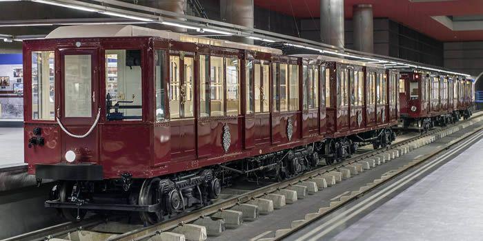 Resultado de imagen de trenes historicos exposicion