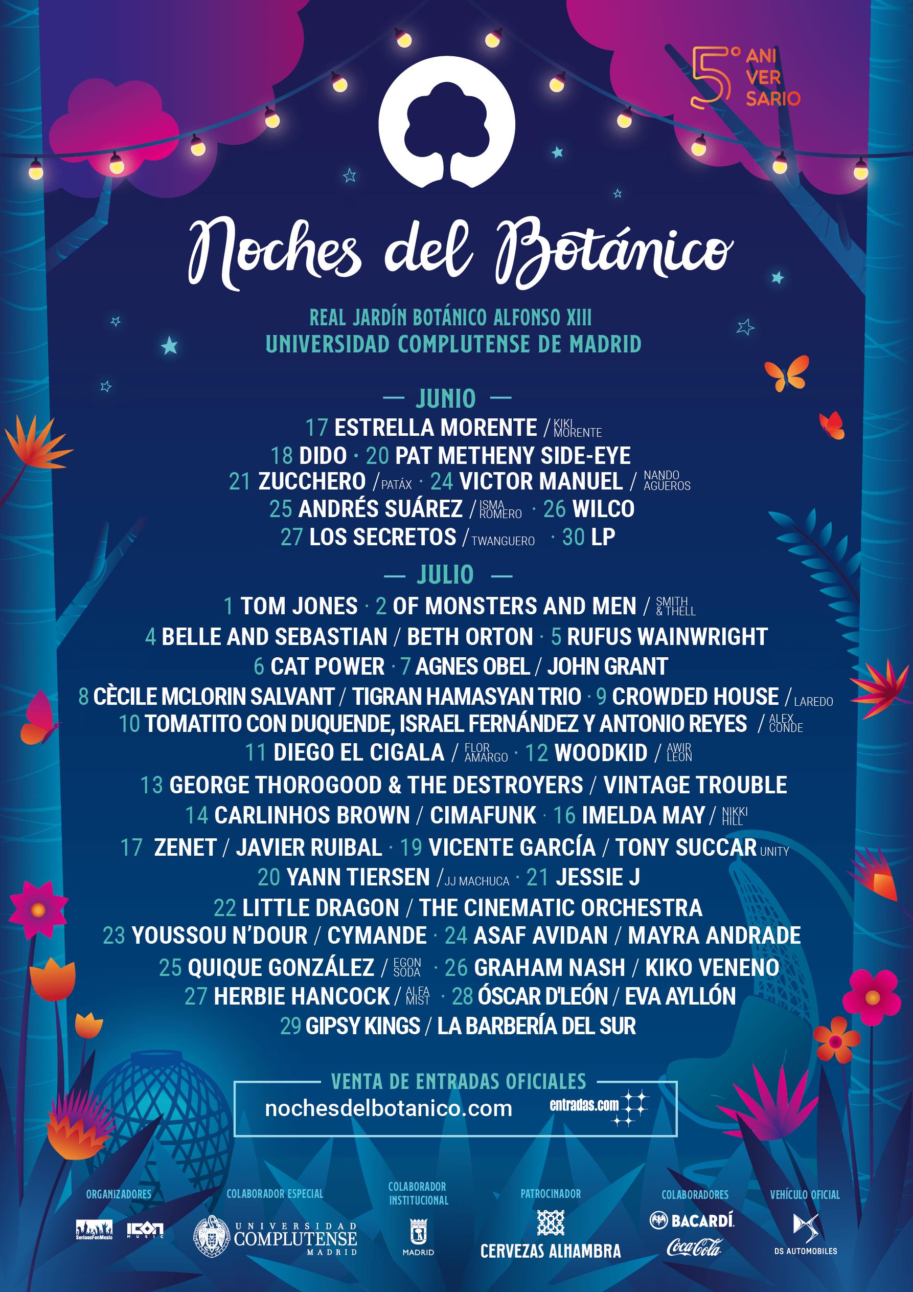 Noches del Botanico 2020