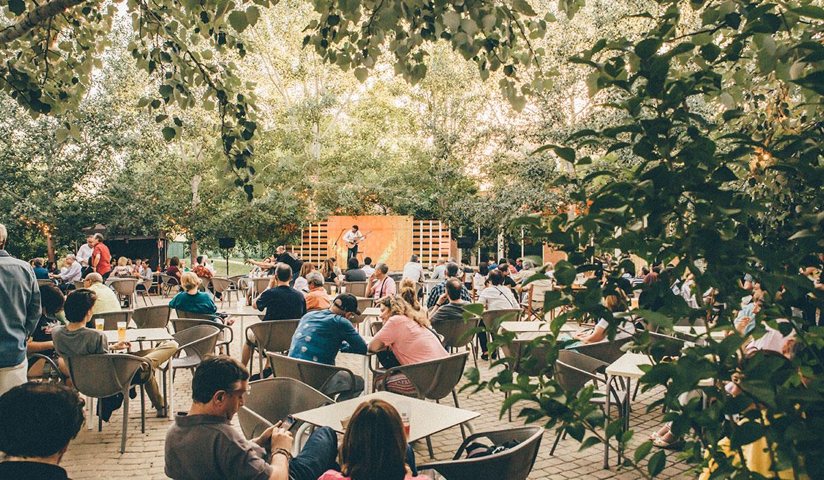 Actuación en la zona 'Momentos Alhambra'