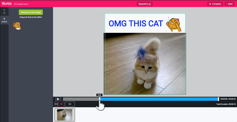 Online video timmer