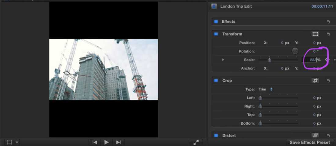 How to create vertical videos with Final Cut Pro