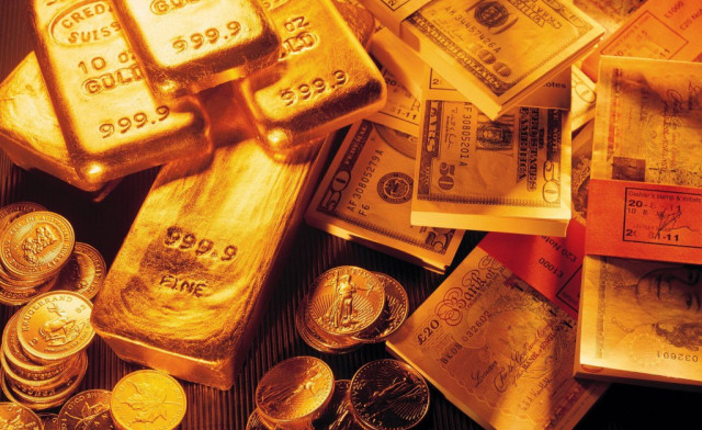 FOREX_Gold-lower-as-dollar-gives-up_FXPIG
