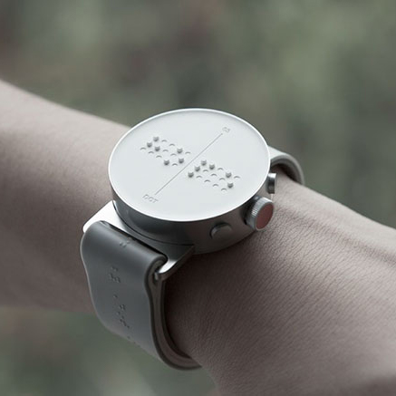 A Watch That Tells Time To Those Who Can't See